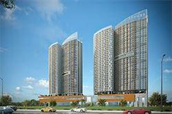 VINA2 thi công dự án trung tâm thương mại dịch vụ và căn hộ I - Tower Quy Nhơn