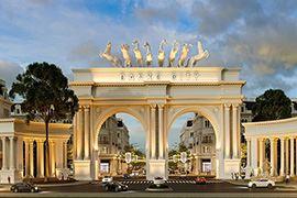 Thi công xây dựng trung tâm thương mại dự án DANKO CITY