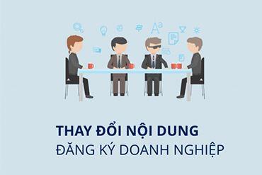 VINA2 thông báo thay đổi nội dung đăng ký doanh nghiệp và sửa đổi Điều lệ