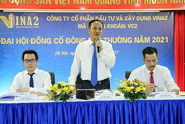 VINA2 sẽ tăng vốn điều lệ, mở rộng lĩnh vực đầu tư bất động sản