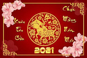 Thư cảm ơn và chúc tết Nguyên Đán Tân Sửu 2021