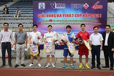 Giải bóng đá VINA2 Cup năm 2021, chào mừng 90 năm thành lập Đoàn TNCS HCM và 51 năm thành lập Công ty