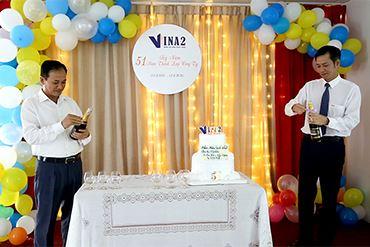 Lễ kỷ niệm 51 năm ngày thành lập Công ty Cổ phần Đầu tư và Xây dựng VINA2 (01/04/1970 - 01/04/2021)