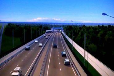 Ngắm đường cao tốc hơn 11.157 tỷ nối Nghệ An - Hà Tĩnh đẹp như tranh vẽ
