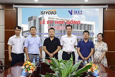 VINA2 thi công dự án nhà máy sản xuẩn và kinh doanh điện tử SIYOTO VINA