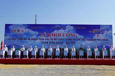 Khởi công dự án PPP đầu tiên của cao tốc Bắc – Nam phía Đông