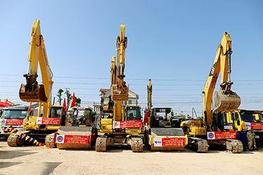 Khởi công tuyến cao tốc Diễn Châu - Bãi Vọt