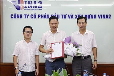 Lễ công bố quyết định bổ nhiệm phó Tổng giám đốc - Trịnh Văn Hưng