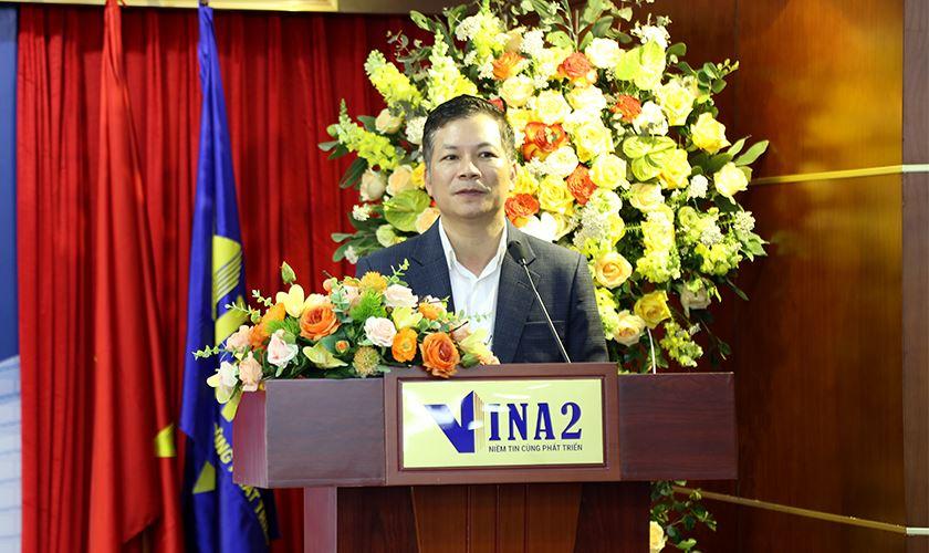 Ông Phạm Thanh Hưng phát biểu