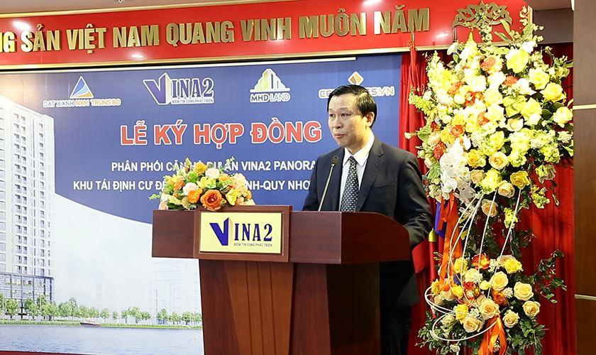Ông Nguyễn Đăng Gô Ganh phát biểu khai mạc