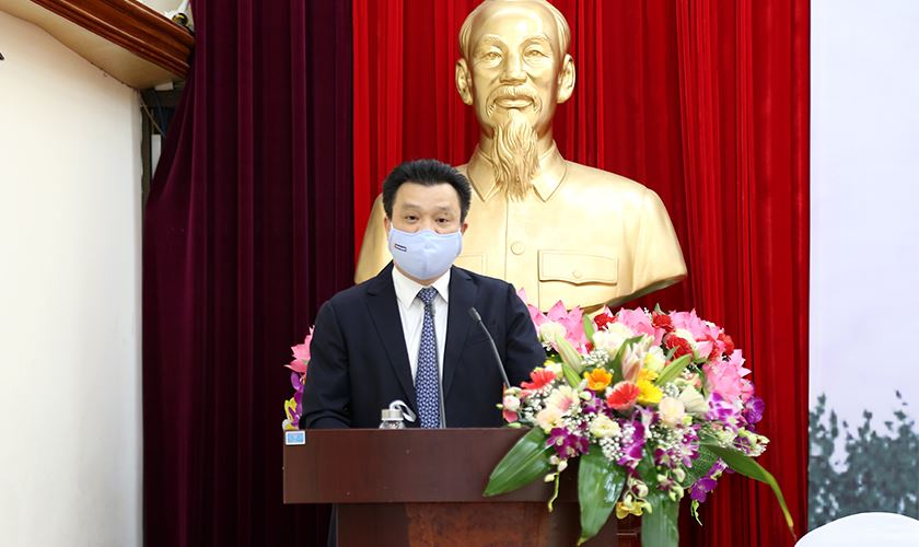 Vụ trưởng Vụ Đối tác công - tư Lê Kim Thành thông tin quá trình chuẩn bị dự án