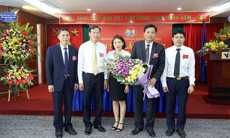 Ủy ban kiểm tra Đảng ủy Công ty cổ phần Đầu tư và Xây dựng VINA2  khóa XII nhiệm kỳ 2020 - 2025 ra mắt Đại hội