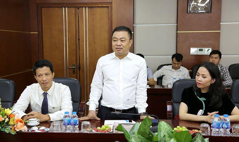 Ông Nguyễn Gia Long - Chủ tịch HĐQT MBLand phát biểu