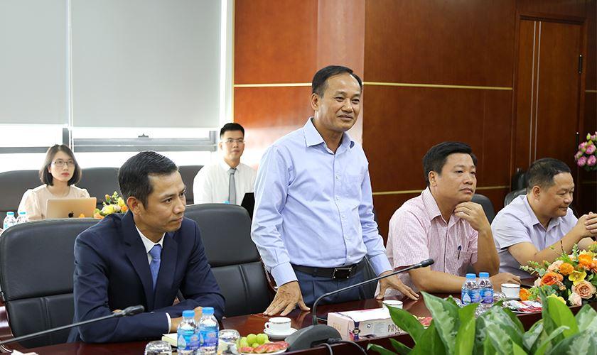 Ông Đỗ Trọng Quỳnh - Chủ tịch HĐQT VINA2 phát biểu